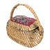 Sweetgrass Basket With Lid (2 Pcs.)