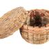 Sweet Grass Basket With Lid