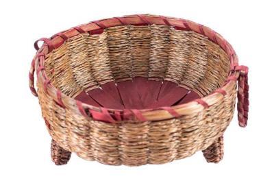 Shallow Round Basket