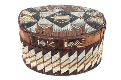 Oval Lidded Box