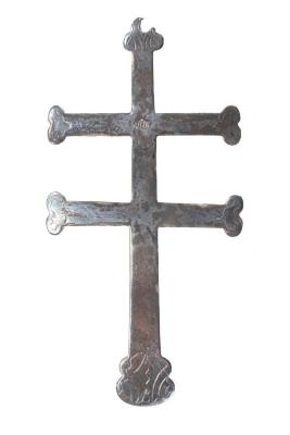Cross, Double Silver