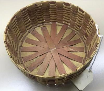 Round Splintwood Basket