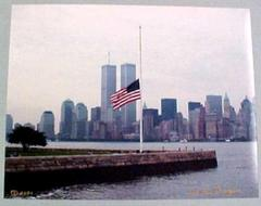 Photograph, World Trade Center Twin Towers, June 29, 2000