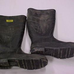 Steel Toed Rubber Work Boots