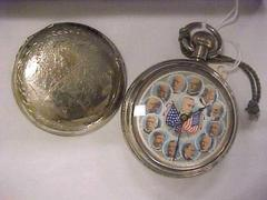 Pocket Watch, President Harrison And His Cabinet
