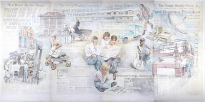Grand Rapids Press Mural