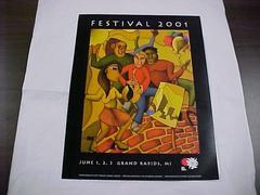 Poster, Festival 2001