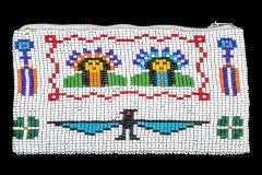 Beaded Coin Purse (both Sides Pictured)