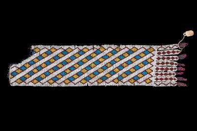 Native American Garter Pendant