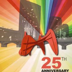 25th Anniversary Pride Festival Poster