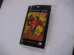 Program Or Booklet, Festival 2001