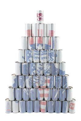 Seven-Up Cans