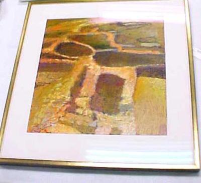 Painting, Qumran Ruins