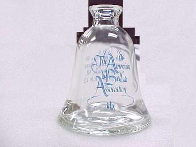 Commemorative Glass Bell Bottle, The American Bell Association