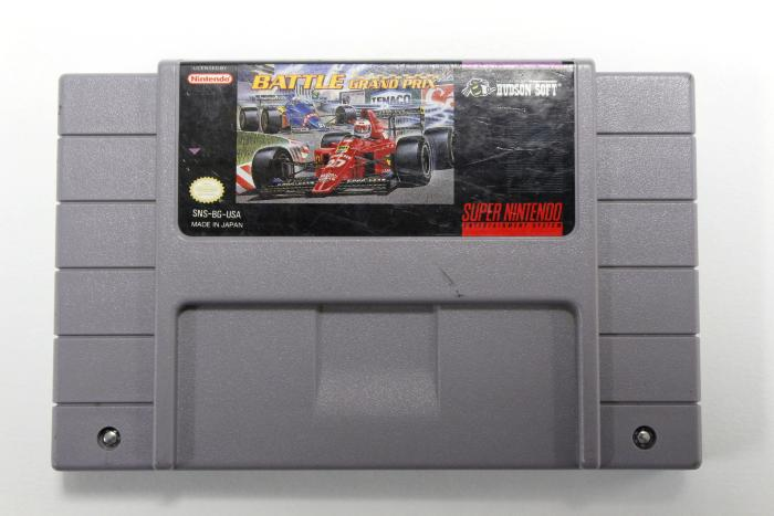 Super Nintendo Entertainment System, Battle Grand Prix Game Cartridge