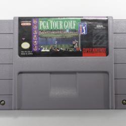 Super Nintendo Entertainment System, Pga Tour Golf Game Cartridge