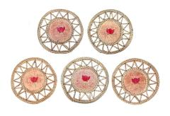 Quilled Coasters, 5