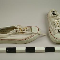 Tennis Shoes, Pair, Sudanese Immigration Archival Collection #137
