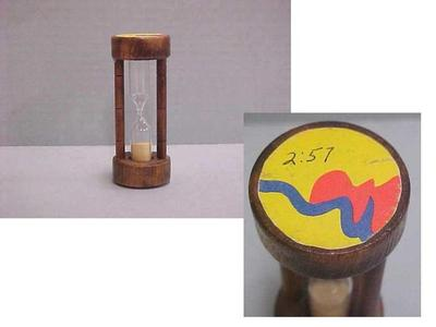 City Commission Egg Timer, 3.12 Minutes