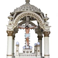 Baldacchino Or Street Shrine From Our Lady Of Sorrows Church
