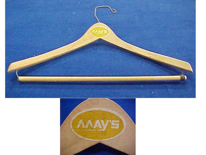 Hanger, May's Of Michigan Dept. Store