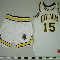 Men's Basketball Uniform, Calvin College