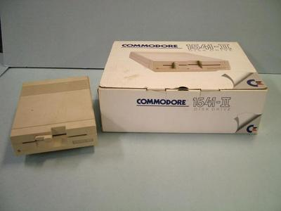 Computer Accessory, Commodore 1541-ii Floppy Disk Drive, Woodrow Vanhouten Personal Computer Archival Collection #200