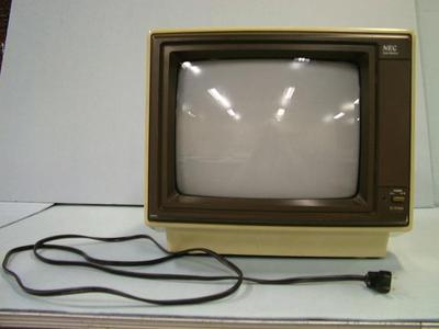 Computer Accessory, Nec Color Monitor, Woodrow Vanhouten Personal Computer Archival Collection #200