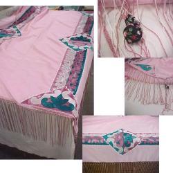 Pink Shawl, Native American