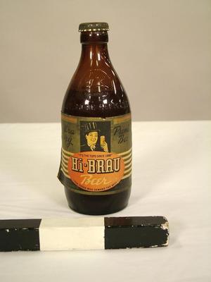 """Bottle, Hi-brau"""" - Grand Rapids Brewing Company"""""""