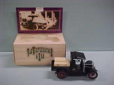 Model Toy Truck, Van Westenbrugge And Erb With Original Box