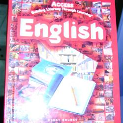 Text Book, Access Building Literacy Through Learning: English