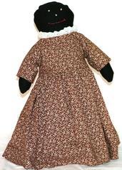 Cloth Doll, African American Female