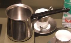 Arabic Coffee Maker, Silver-colored