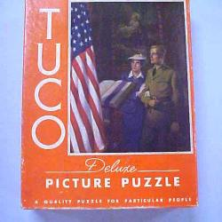 Propaganda Jigsaw Puzzle, Soldier Getting Married Before Leaving For War