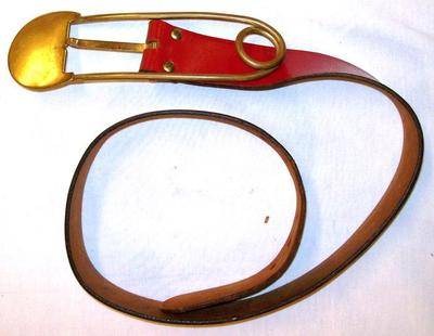 Woman's Red Belt