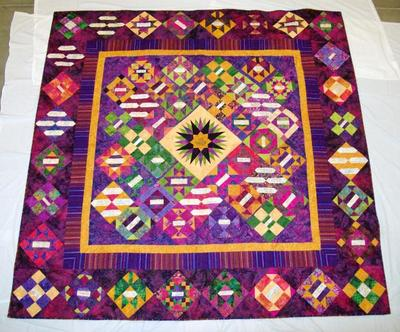 Signature Quilt, 30th Anniversary West Michigan Quilter's Guild