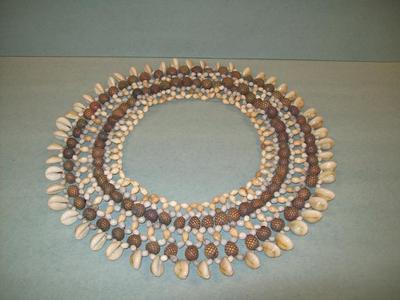 Collar, Shell Beaded
