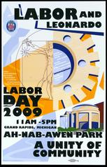 Poster, Labor And Leonardo