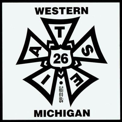 Bumper Sticker, International Alliance Of Theatrical Stage Employees, Western Michigan Local #26