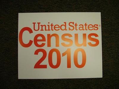 Poster, 2010 Census
