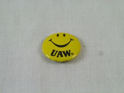Pin-back Button, Uaw