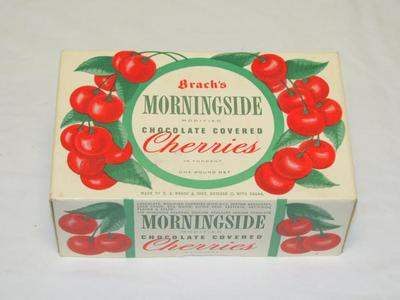 Candy Container, Morningside Chocolate Covered Cherries