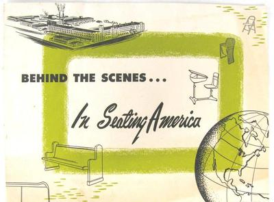 Pamphlet, American Seating Company, Behind the Scenes...