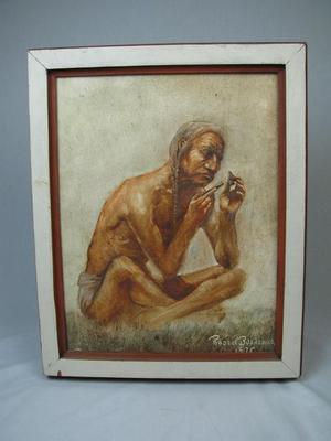 Painting, Native American Man