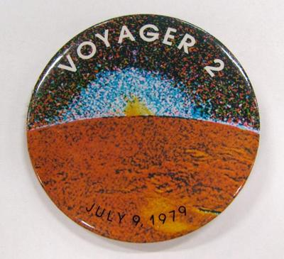 Promotional Button, Voyager 2