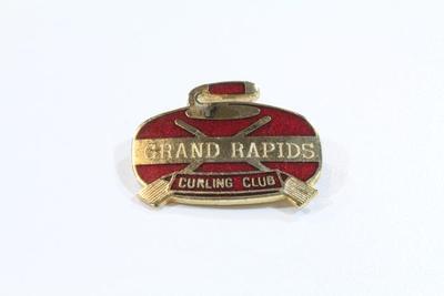 Pin, Grand Rapids Curling Club