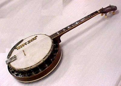 Banjo, 'happy Jack'