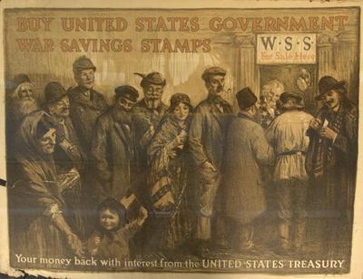 Poster, War Savings Stamps