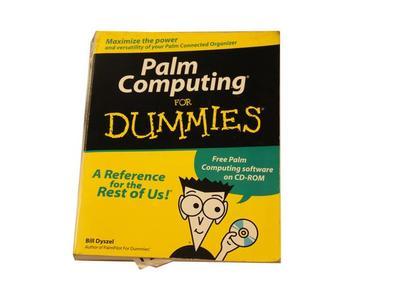Book, Palm Computing For Dummies